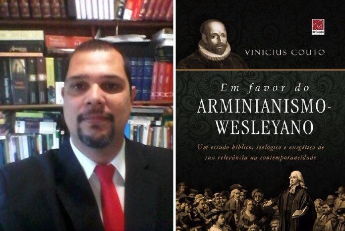 Pr Vinicius Couto lança seu mais novo livro