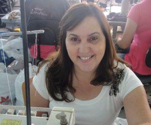 81dfdd11d Empresária Lúcia Iório ajudou a criar a peça destinada a mulheres com câncer  de mama.