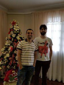 Wellinton Tibério e Antônio Claret