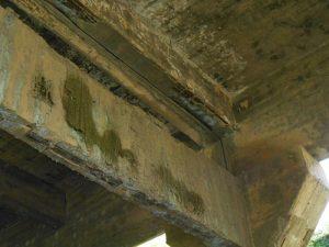 A reportagem do Barroso EM DIA fotografou a situação da Ponte Nova, entre os trevos da cidade