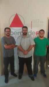 Bruno Ferreira, Eduardo Ferrarezzi e Matheus Ávila